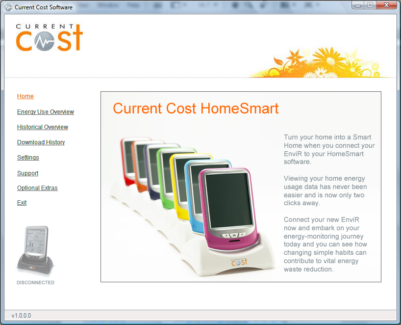 HomeSmart Welcome Screen